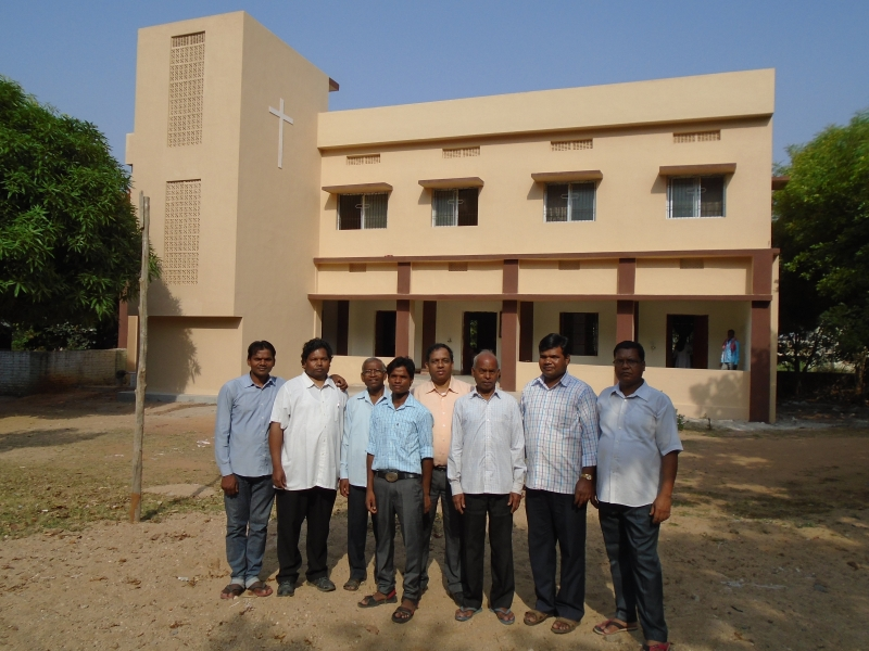 Priests & Rectory at St. Xavier Church, Latehar