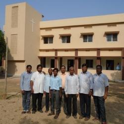 Priests & Rectory at St. Xavier Church, Latehar