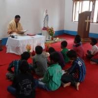 Little Angels Attending Holy Mass