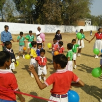 5rahargora school children
