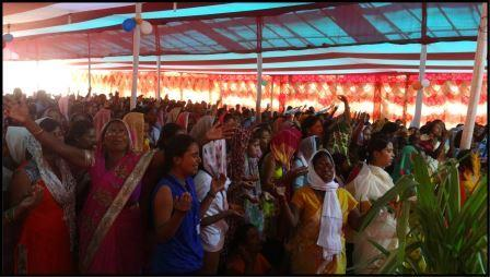 Participants at Spiritual Renewal, Latehar